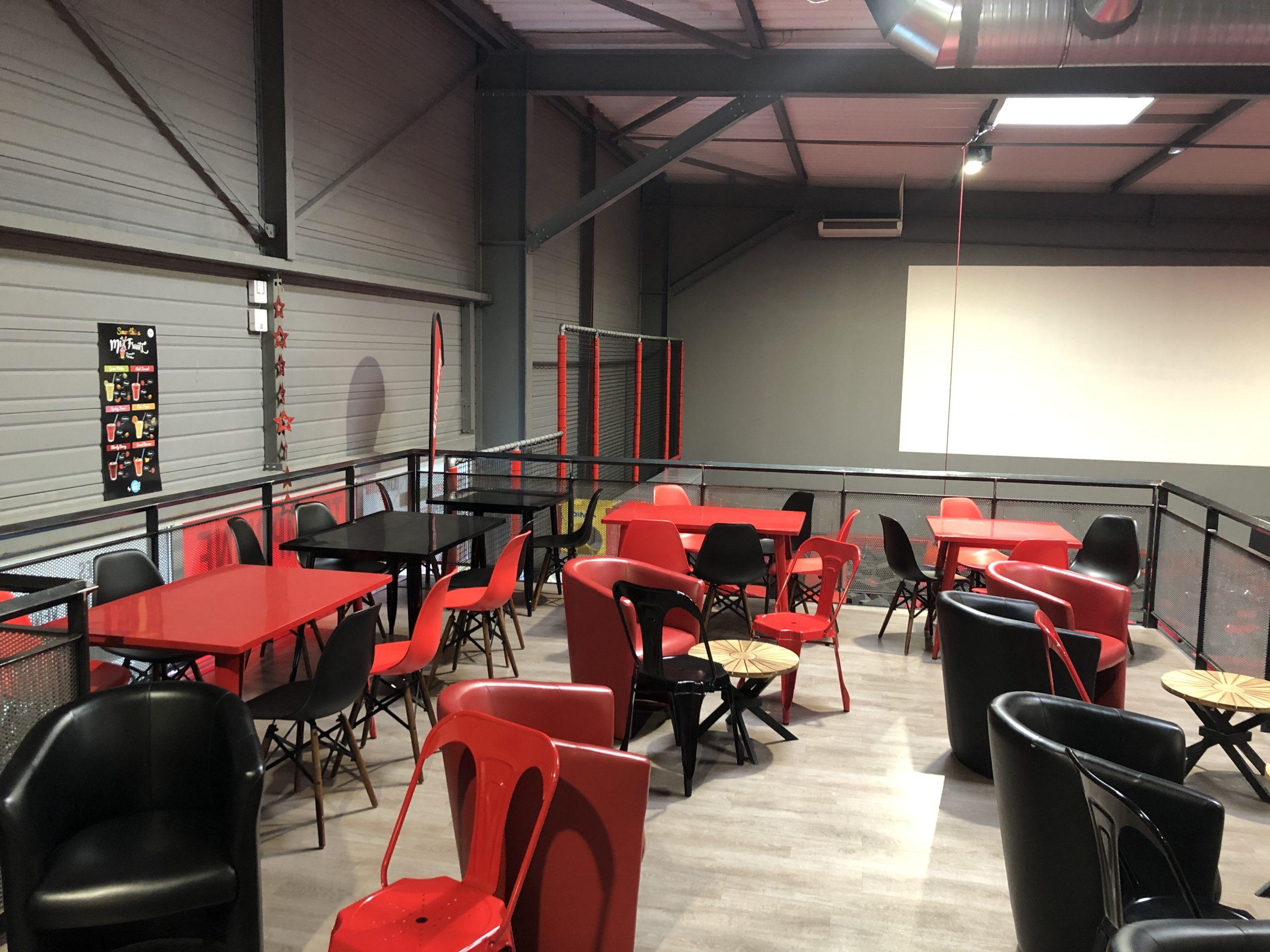 Trampoline Park Toulouse Ultra Jump Salle détente